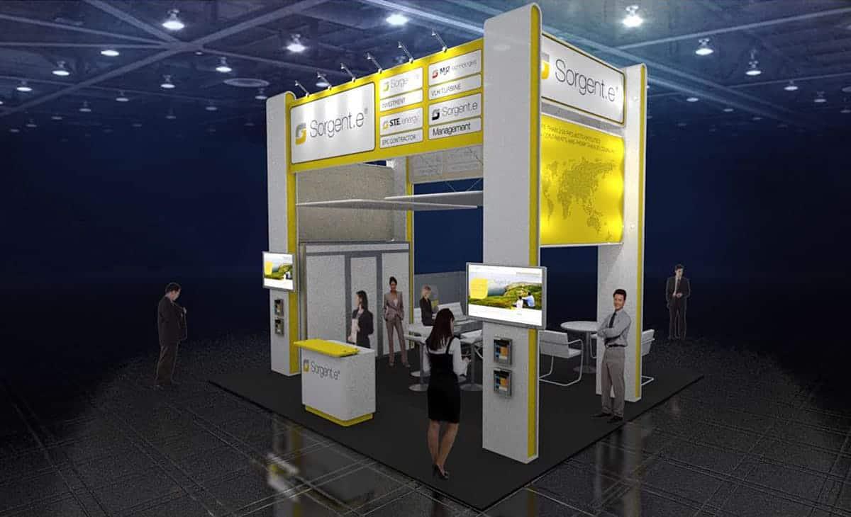trade show exhibit rentals-sargente